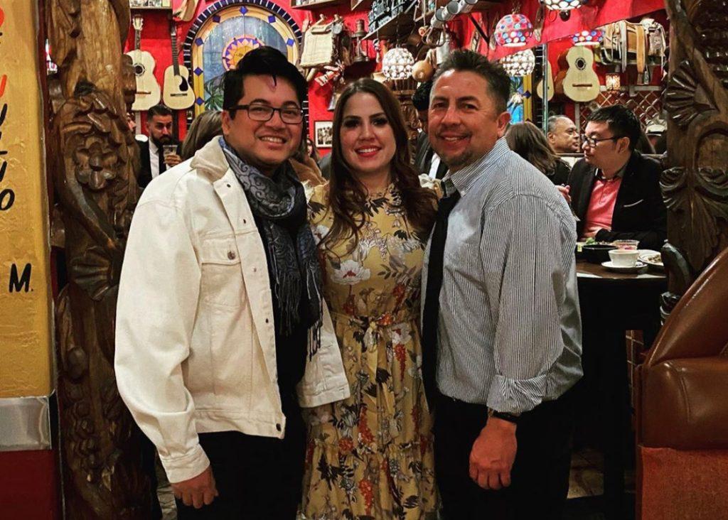 Stephanie with Alfredo Jaro from Off The Strip