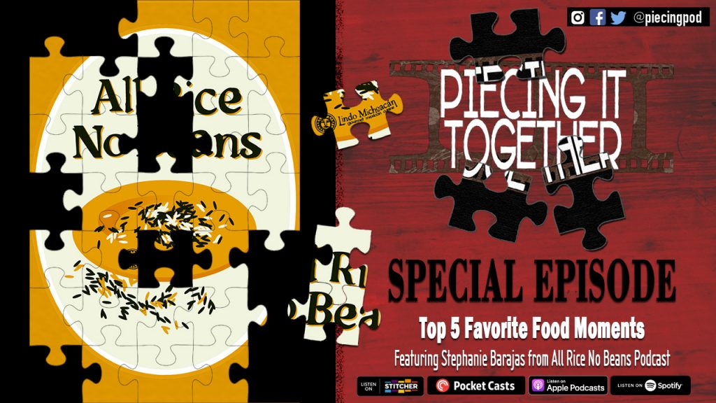 Piecing It Together Top 5 Favorite Food Moments